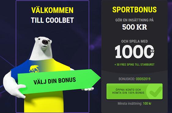 Bästa odds Sverige - Norge 8 Sept 2019